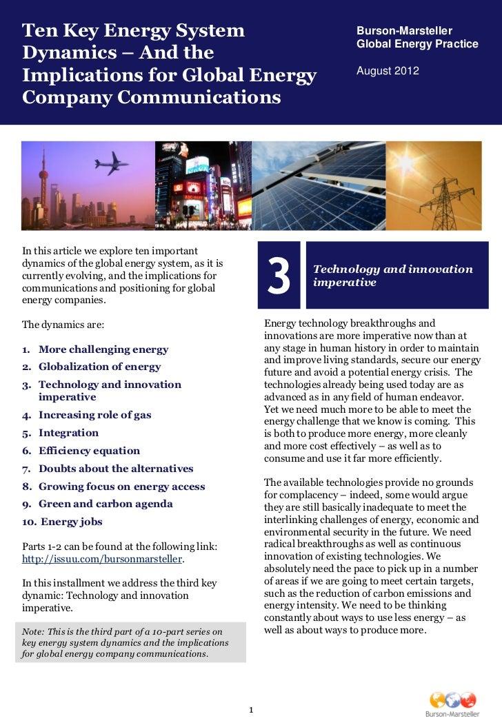 Ten Key Energy System                                                          Burson-Marsteller                          ...