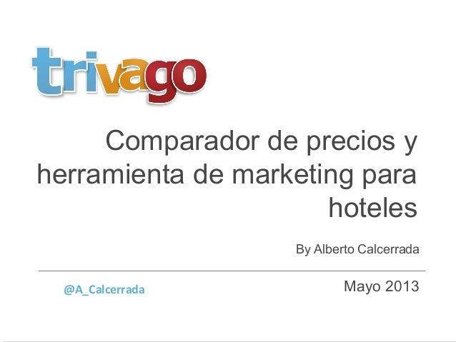 trivago, Comparador de precios y herramienta de marketing para hoteles