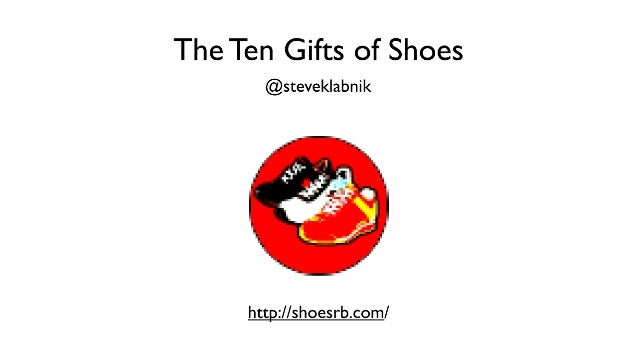 The Ten Essential Gifts of Shoes
