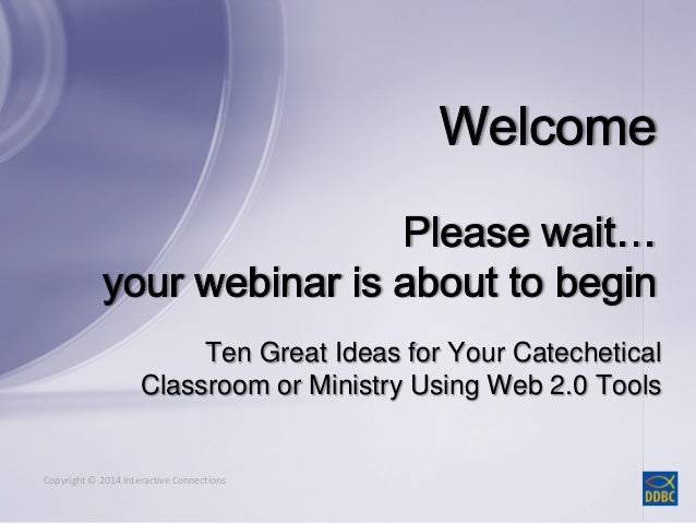 Ten Great Ideas for Your  Ministry Using Web 2.0 Tools