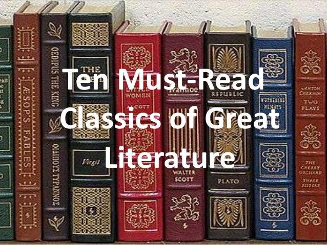 Ten must read classics of great literature