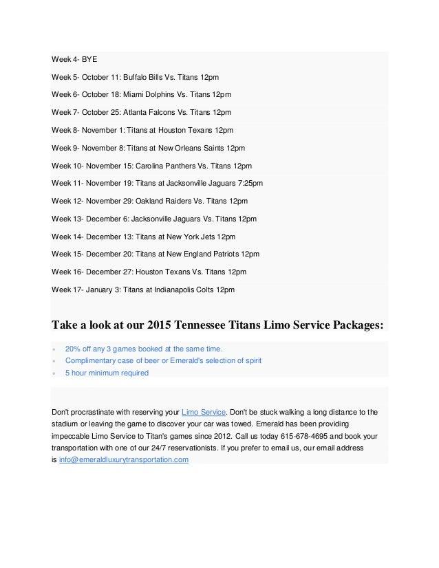 October 11 Buffalo Bills