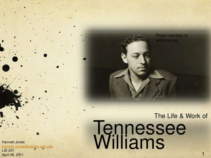 The Life & Work of Tennessee Williams