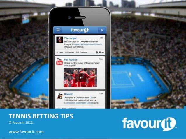 Get tennis betting tips from the experts