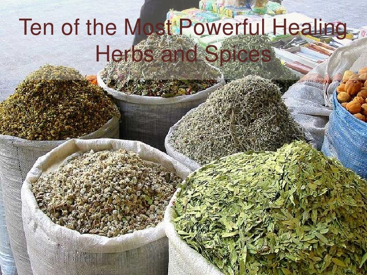 Ten of the most powerful healing herbs and spices