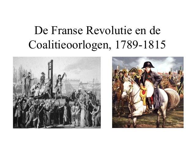 De Franse Revolutie 1789-1815