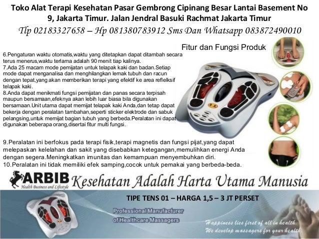 TIPE TENS 01 – HARGA 1,5 – 3 JT PERSET Toko Alat Terapi Kesehatan Pasar Gembrong Cipinang Besar Lantai Basement No 9, Jaka...