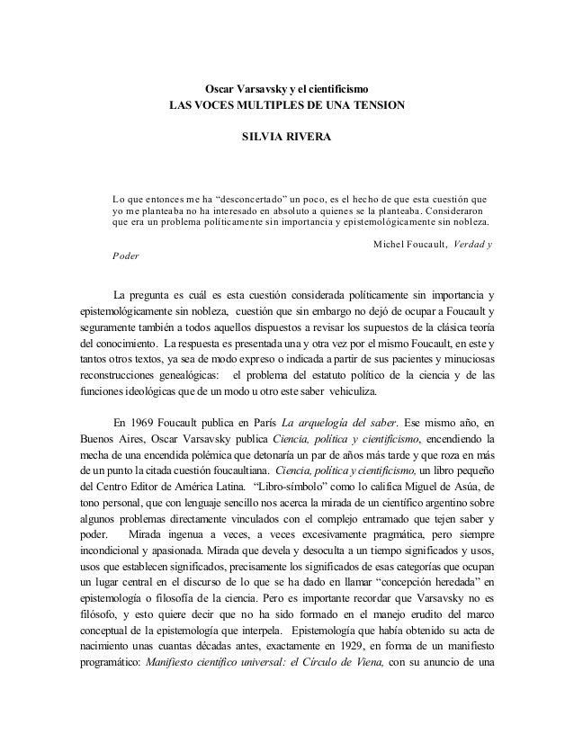Tensiones argentinas