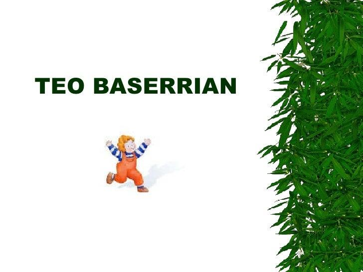 Teo Baserrian