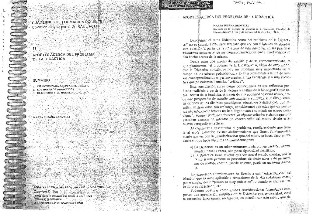 Teocurri paav-1er-año aportes-acerca_del_problema_de_la_didactica