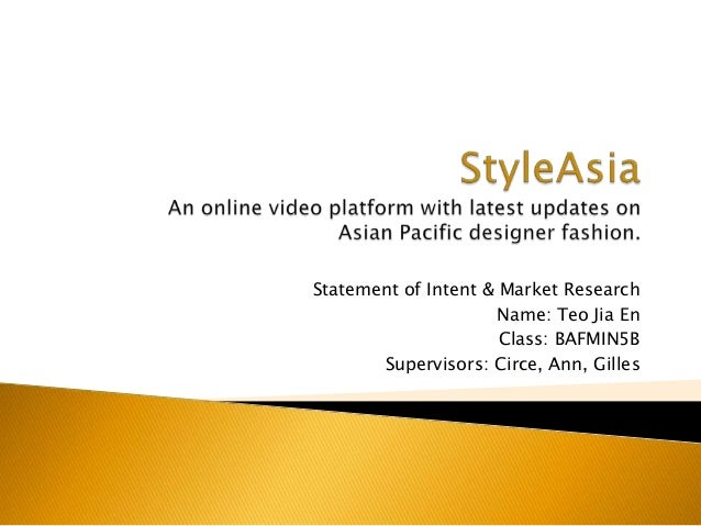 Draft Research & Proposal for Fashion Video Commerce & Community Platform