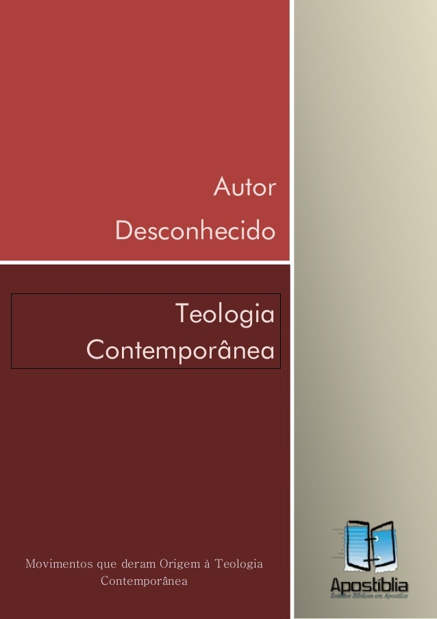 Teologia contemporanea