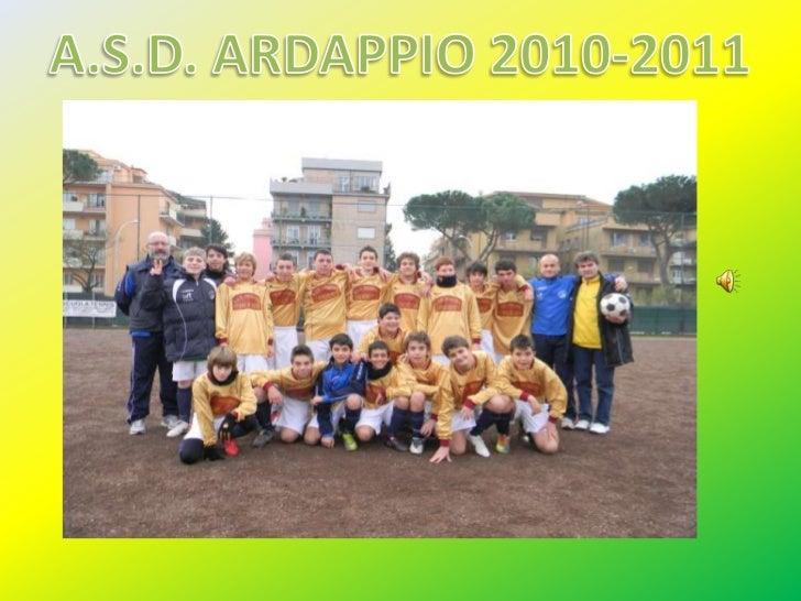 A.S.D. ARDAPPIO 2010-2011<br />