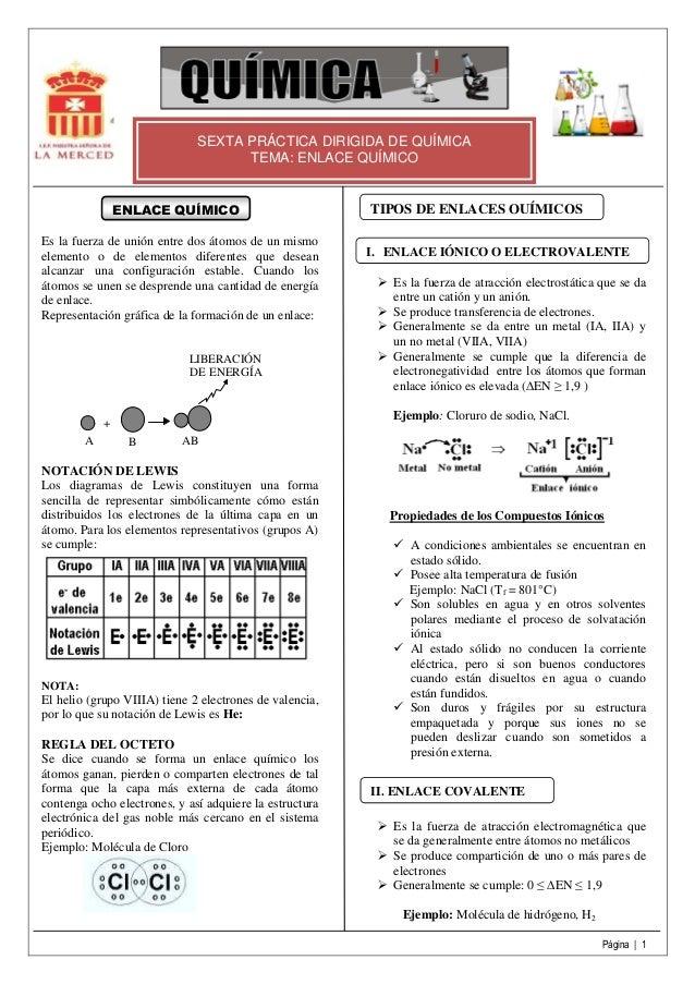 Teoría de enlace químico