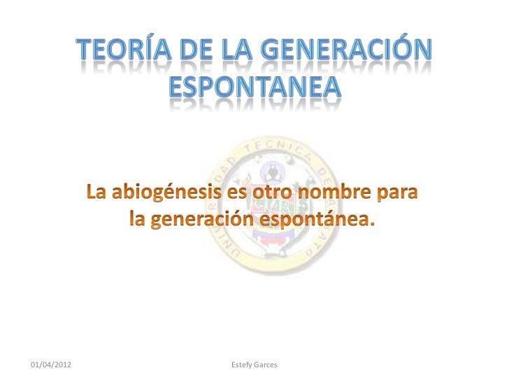 01/04/2012   Estefy Garces
