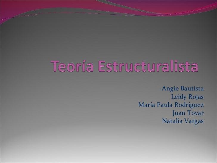 Angie Bautista Leidy Rojas María Paula Rodríguez Juan Tovar Natalia Vargas