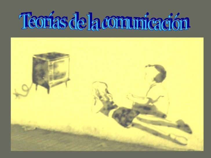 TeoríAs De La ComunicacióN Power