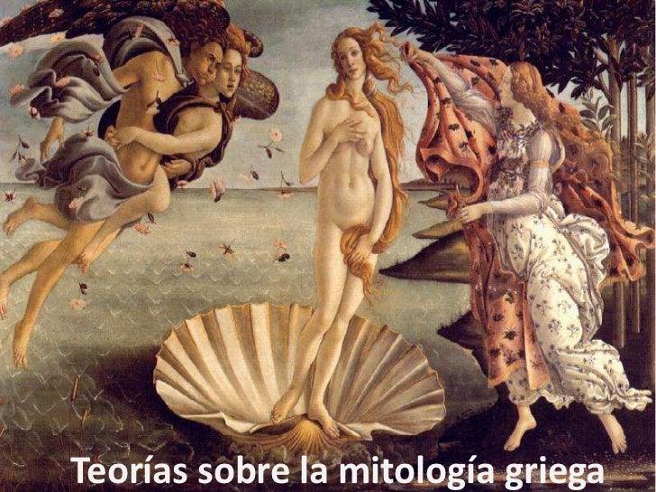 Teorías sobre la mitología griega