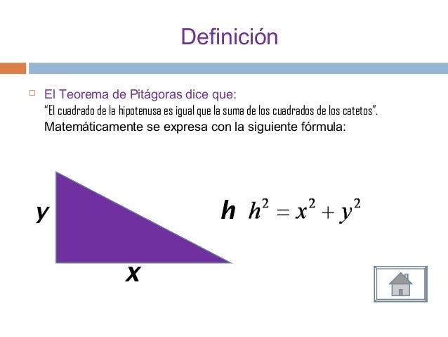 teorema depitagoras