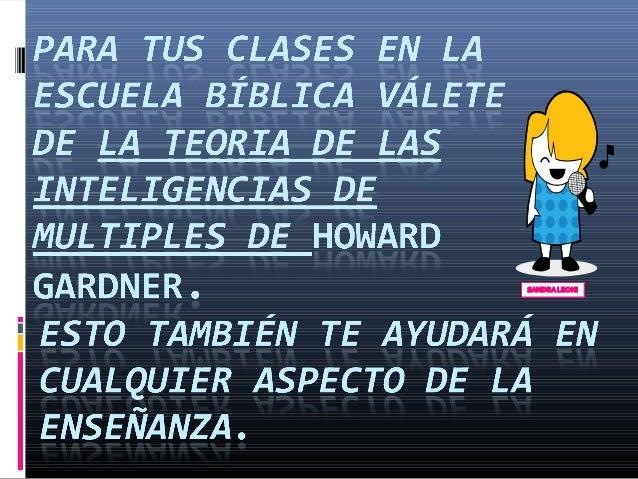 Teoria de-las-inteligencias-multiples-aplicada a la enseñanza biblica