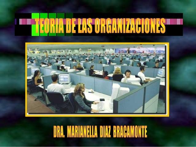 Teoria de-las-organizaciones-1era-parte