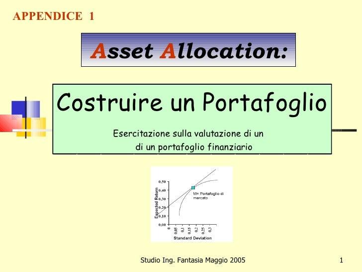 Teoria asset allocation