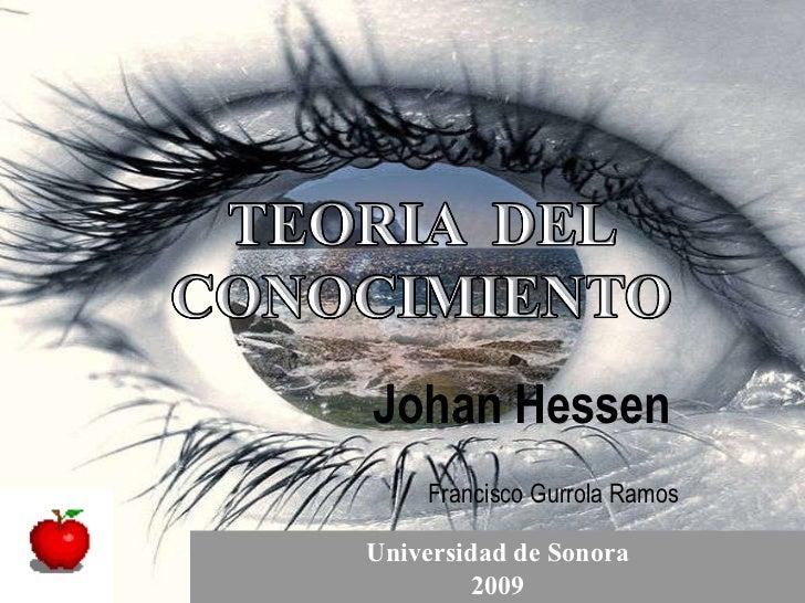 Teoria del Conocimiento de J. Hessen