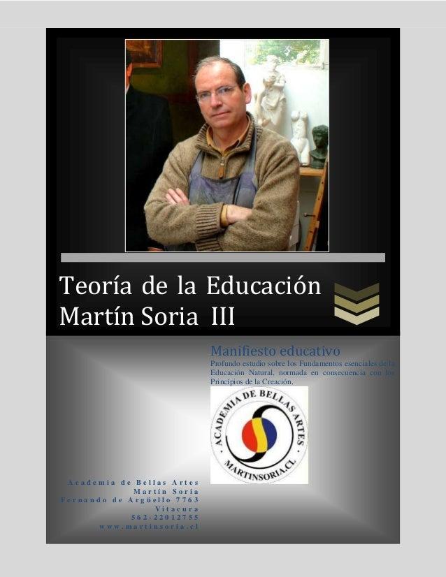 TEORÍA DE LA EDUCACIÓN III DE 4
