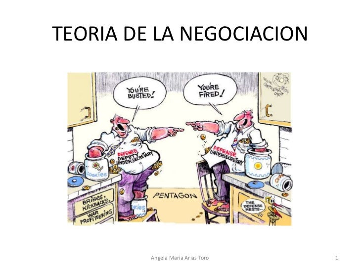 Teoria de la negociacion