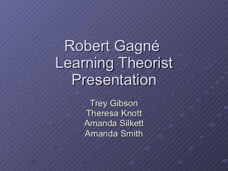 Teoria del Aprendizaje-Gagne