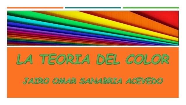 La Teoría del Color se refiere a cómo el ojo humano percibe los colores, y a la descripción y gestión de dichos colores en...