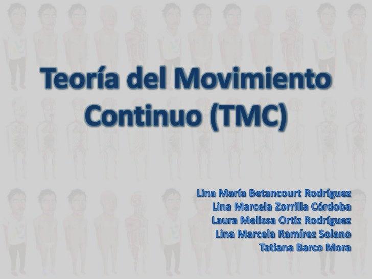 Teoria del movimiento continuo