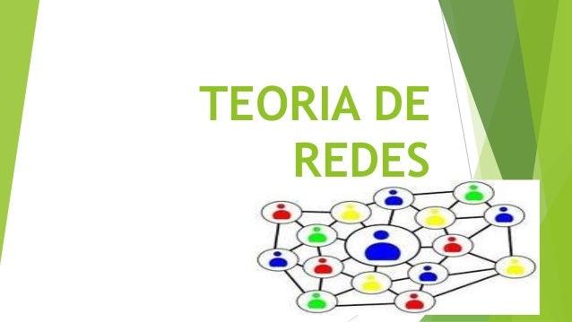 Teoria de Redes