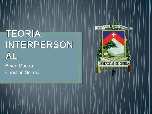 Teoria interpersonal de Harry Sullivan