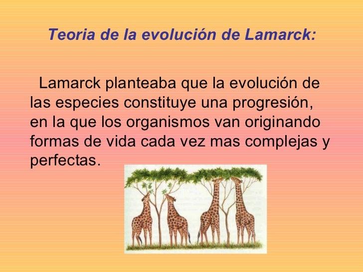 Teoria de la Evolucion Sintetica Teoria de la Evolución de