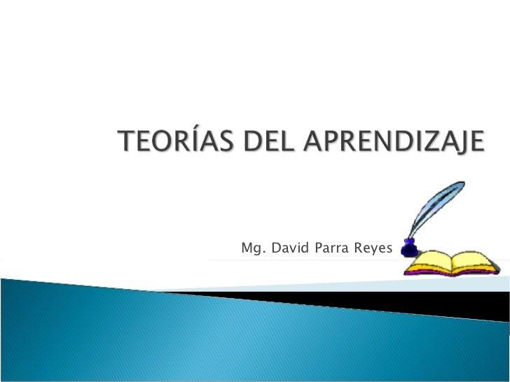 Mg. David Parra Reyes