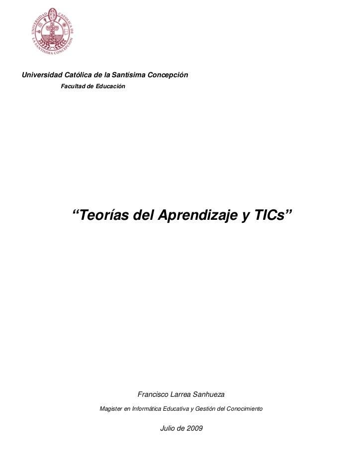 Teorias del Aprendizaje y TICs