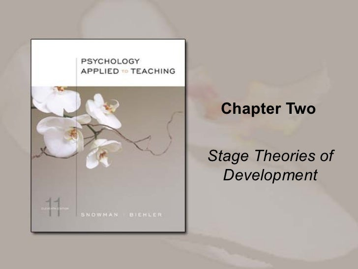 Chapter Two Stage Theories of Development