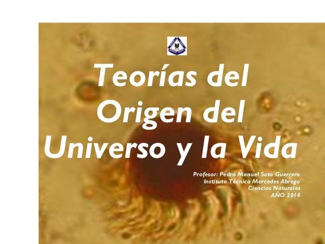 Teorias sobre el Origen del Universo