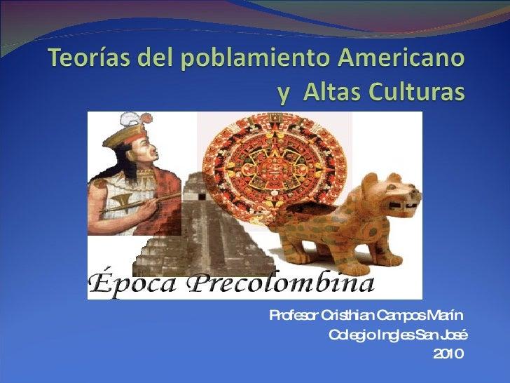 Teorias Y Altas Culturas