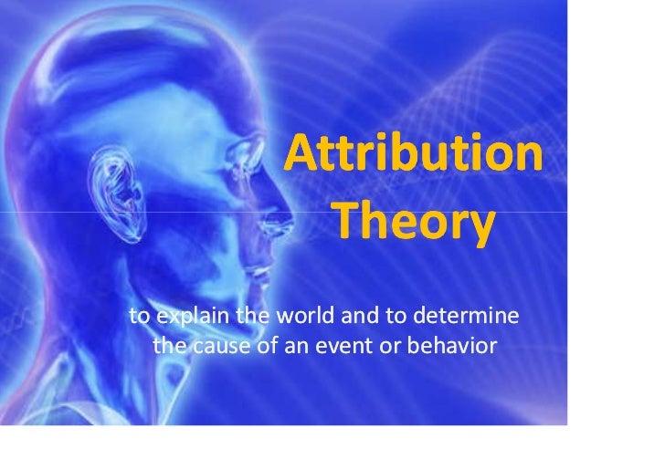 Teori atribusi