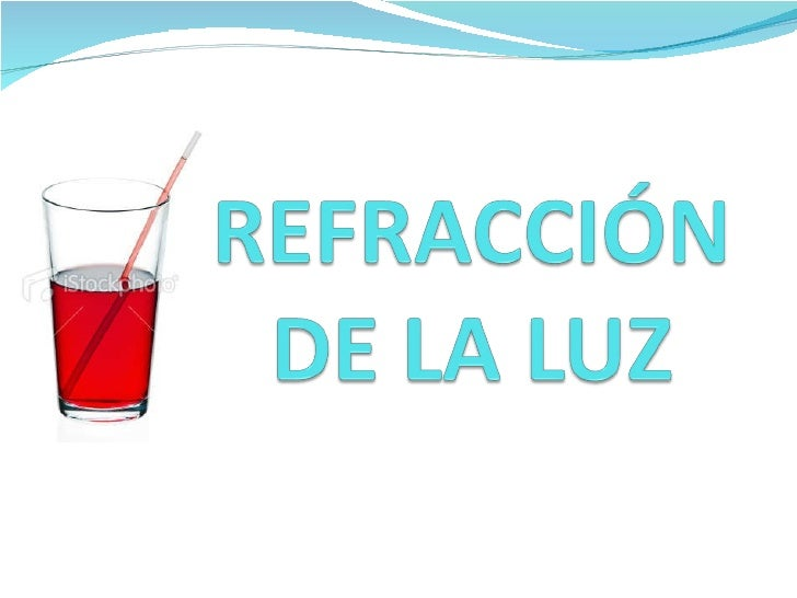 Teoria y ejercicios de refraccion