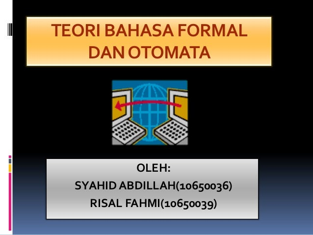 Teori bahasa formal dan Otomata