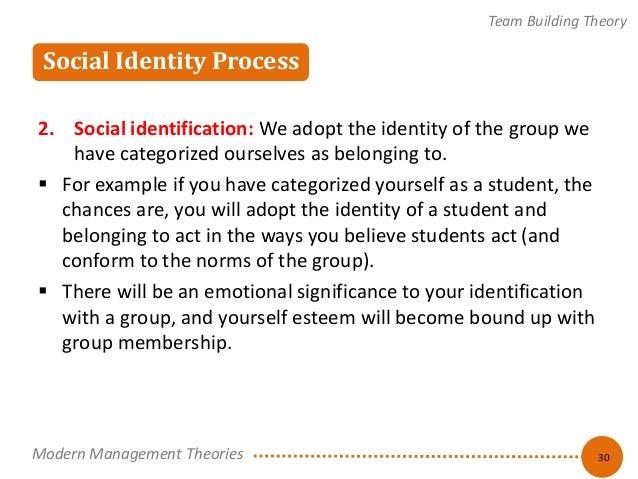 adoption and the identity theory essay