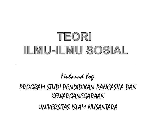 Muhanad YogiPROGRAM STUDI PENDIDIKAN PANCASILA DANKEWARGANEGARAANUNIVERSITAS ISLAM NUSANTARA