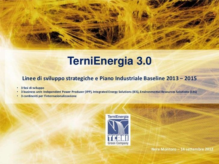 STRATEGIC PLAN 2011-2013                                                                      Milan –28 February 2011     ...