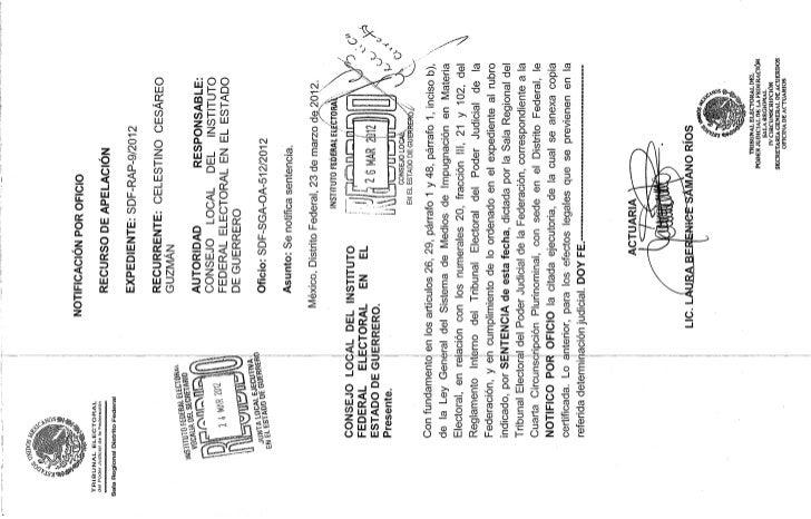 Tribunal Electoral del Poder Judicial de la Federación confirma sanción contra Celestino y PRD