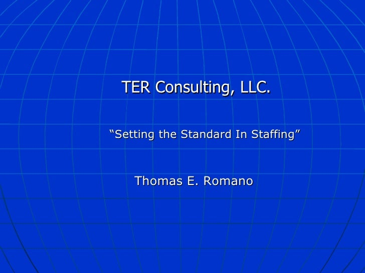 Ter Consulting Llc