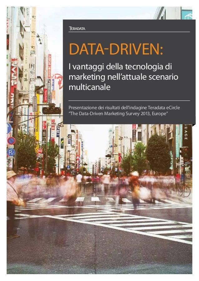Data-driven: I vantaggi della tecnologia di marketing nell'attuale scenario multicanale
