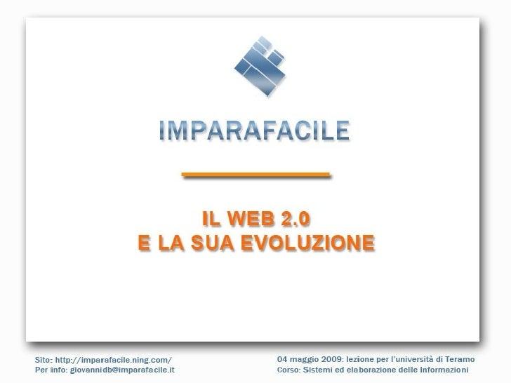 Teramo Evoluzione Web 20